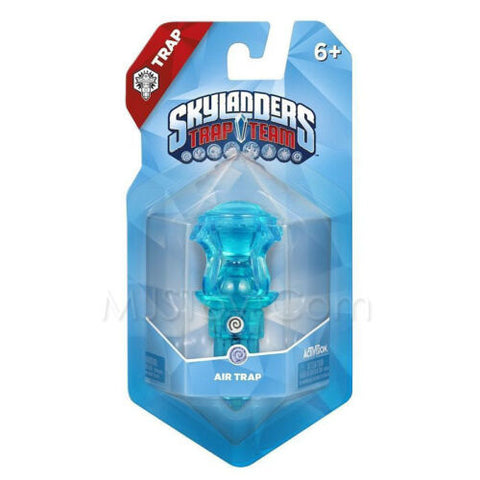 NEW Skylanders Trap Team Traptanium Air Trap Crystal Clear Blue Hourglass RARE