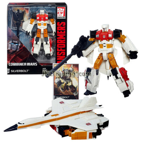 Year 2014 Transformers Generations Combiner Wars Voyager Class Figure SILVERBOLT