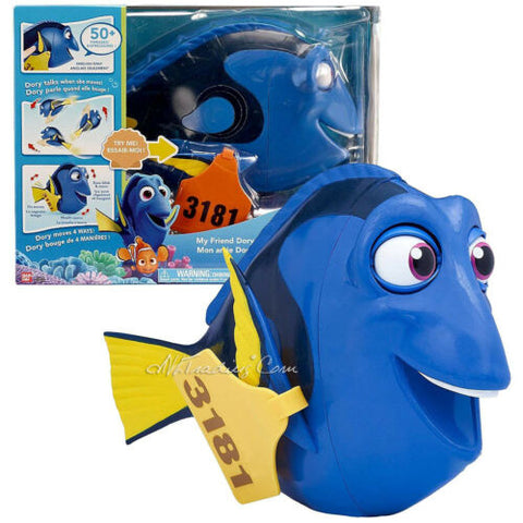 NEW Disney Pixar Finding Dory 50 Phrases Electronic Figure MY FRIEND DORY