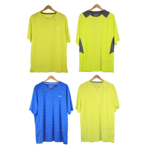 NWT Reebok Men Play Dry Sport Exercise Fitness Tee Workout T-Shirt Bright colors