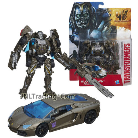 "Year 2014 Transformers Movie Age of Extinction Deluxe Class 5.5"" Figure LOCKDOWN"
