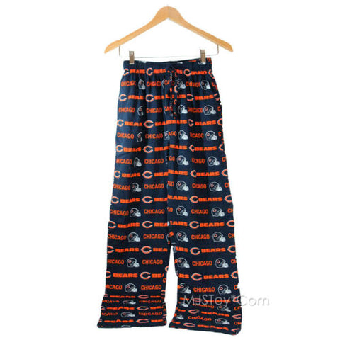 NWT NFL Chicago Bears Men's Barrier Pajama/Lounge/Sleep Pants 100% Cotton S/M