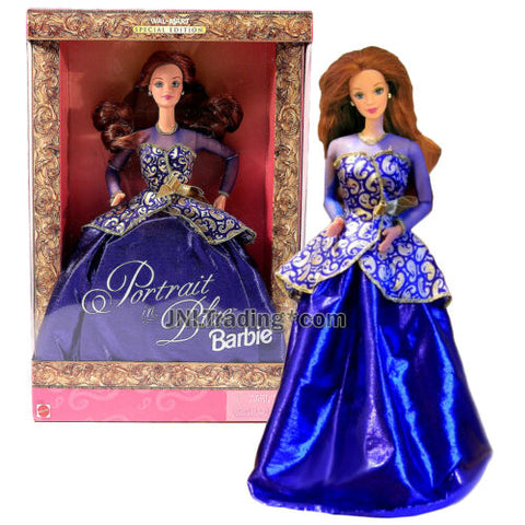 Year 1997 Exclusive Special Edition 12 Inch Doll PORTRAIT IN BLUE BARBIE