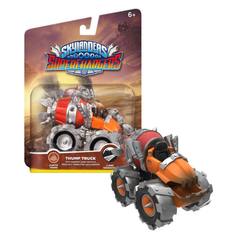 NEW RARE Skylanders Superchargers THUMP TRUCK Action Figure Earth Land Vehicle
