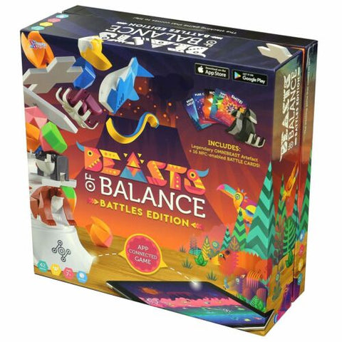 EXCLUSIVE Beasts of Balance Digital Tabletop Hybrid Family Stacking Game Battle