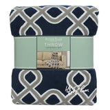"NWT Sutton Place Collection Luxuriously Soft Lounge THROW Warm BLANKET 60""x70"""