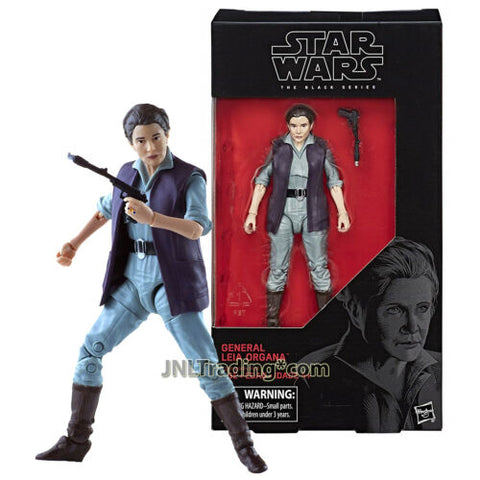 Year 2017 Star Wars The Black Series 5-1/2 Inch Figure #52 - General LEIA ORGANA