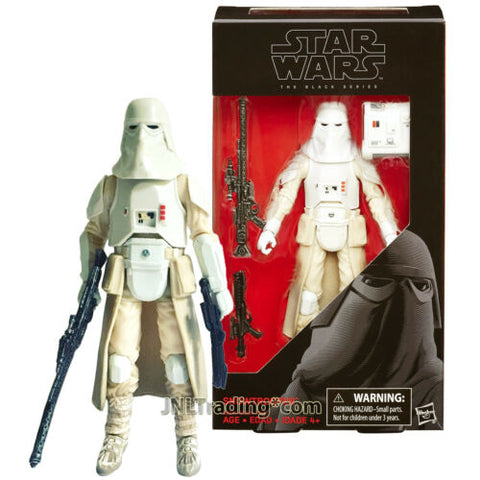 Year 2017 Star Wars The Black Series 6 Inch Figure #35 - SNOWTROOPER