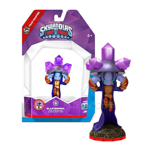 NEW RARE Skylanders Trap Team BLASTERMIND Action Figure Magic Element Skylander