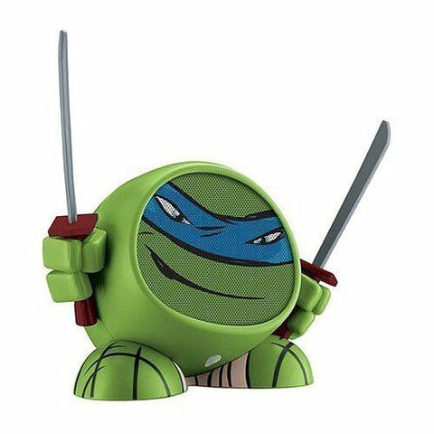 NEW iHome Teenage Mutant Ninja Turtle TMNT Mini Rechargeable Speaker Leonardo