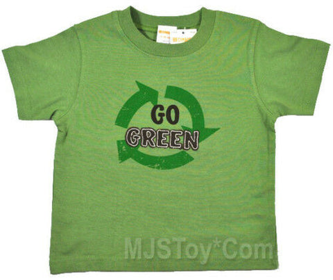 NWT GYMBOREE Recycle Go Green Appliqué T-Shirt 6-12-18 Help the Earth Tee