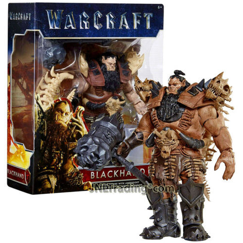 Year 2016 Warcraft Movie Series 6 Inch Tall Figure BLACKHAND with Battle Hammer