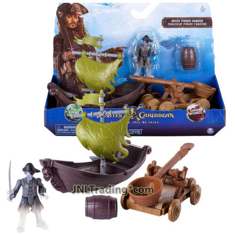 Pirates of the Caribbean Dead Men Tell No Tales Playset GHOST PIRATE HUNTER