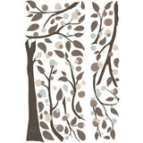 NEW RoomMates XL Tree Giant Wall Decals Modern Dotted Tree Mural Branch Stickers