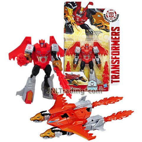 Year 2016 Transformers Robots in Disguise Combiner Force Warriors Class 5-1/2 In