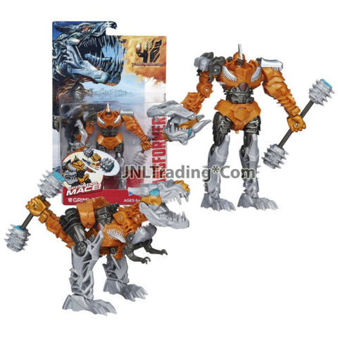 "Year 2014 Hasbro Transformers Age of Extinction Power Attacker 5.5"" GRIMLOCK"