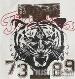 NWT GYMBOREE White Screen Printed Tiger Tee T-Shirt Active Top Collection
