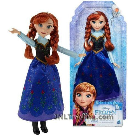"NEW Disney 2015 FROZEN Movie 11"" Doll Hasbro - ANNA B5163"