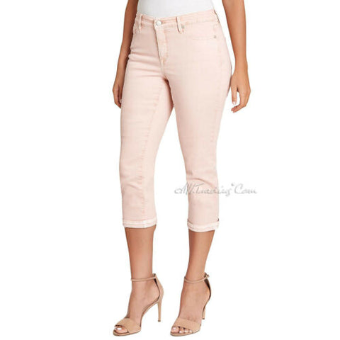 NWT NINE WEST Chrystie Capri Fitted at the hip Relaxed Leg Soft Touch Pants 4