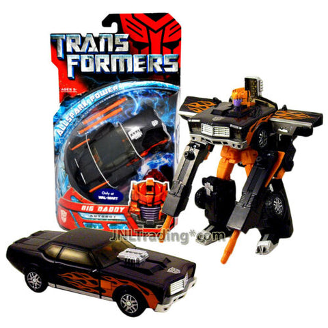 Year 2007 Transformers All Spark Power Series Deluxe Class Figure BIG DADDY