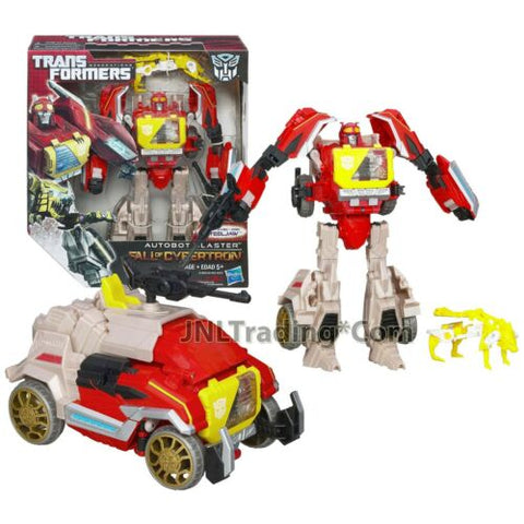 "Year 2012 Transformers Generations Fall of Cybertron 7.5"" AUTOBOT BLASTER"