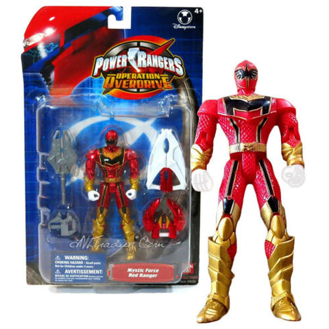 NEW Bandai Power Rangers Operation Overdrive 5.5 Action Figure MYSTIC FORCE RED