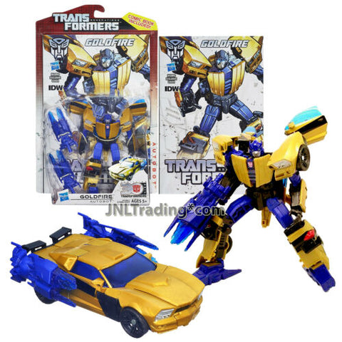 Year 2013 Transformers Generations Thrilling 30 Deluxe Class Figure #10 GOLDFIRE