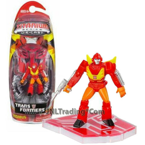 "Year 2006 Transformers Titanium Die Cast 3"" Tall Figure - Autobot RODIMUS"