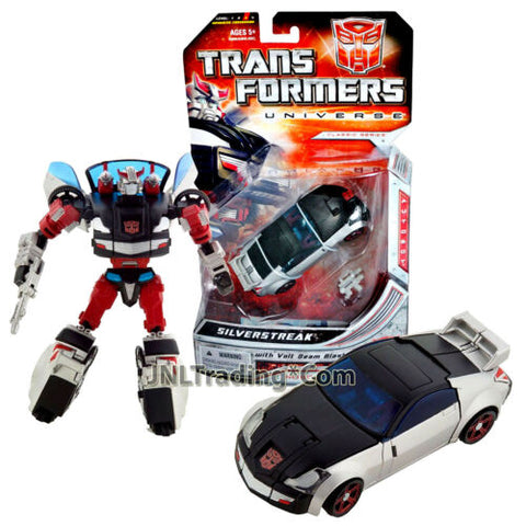Year 2008 Transformer Universe Classic Series Deluxe Class Figure SILVERSTREAK