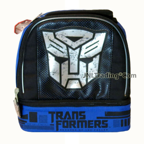 Transformers Revenge of the Fallen Double Compartment Soft Insulated Lunch Bag