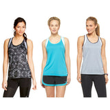 NWT C9 Champion Women Mesh Run Tank Exercise Gym Fitness Duo Dry Racerback Top