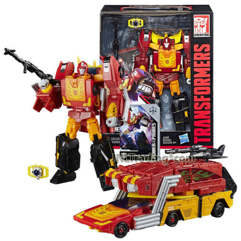 Year 2017 Transformers Power of the Primes Leader Class Evolution RODIMUS PRIME