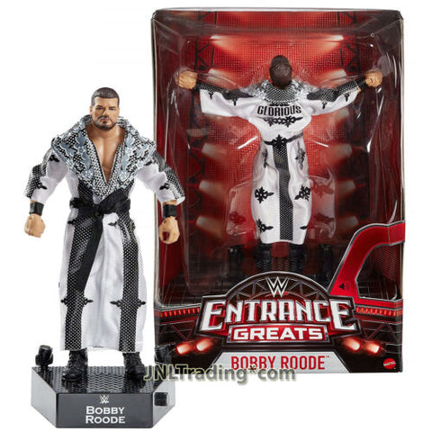 Year 2017 WW World Wrestling Greats Entrance 7 Inch Figure - BOBBY ROODE w/ Base