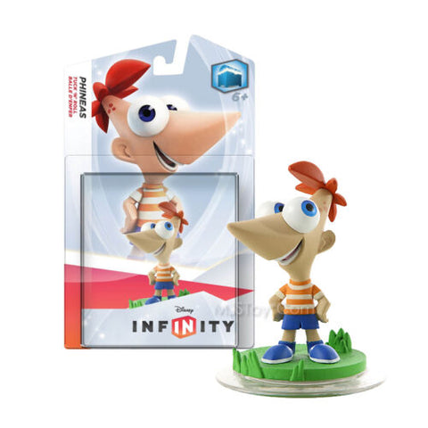 NEW Disney Infinity Phineas Character Figure Xbox Wii U PS3 Ready 2Ship