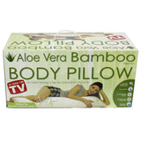 NEW Aloe Vera Bamboo Cool Comfort Tech BODY PILLOW Memory Foam BodyPillow $299