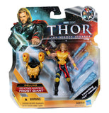 "NEW Deluxe Class BLASTER ARMOR THOR The Mighty Avanger 4"" Action Figure Missiles"
