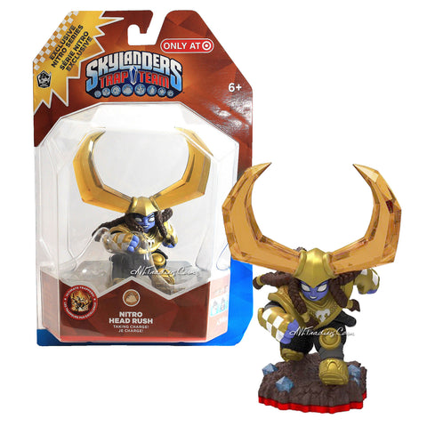 Skylanders Trap Team Master Nitro Head Rush Action Figure Earth Element