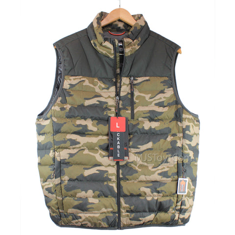 Hawke & Co. Outfitter Pro Series Packable Duck Down Camo Puffer Men's Vest