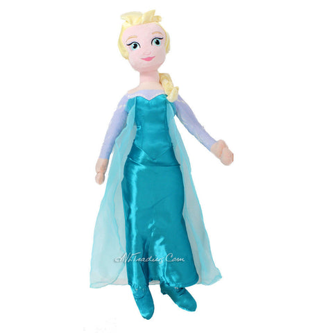 "Disney Year 2014 Frozen Series 28""Jumbo Plush Figure - ELSA"