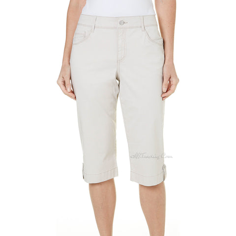 Bandolino Women Brady The skimmer Flawless Stretch Capri Cropped Pants 4-18