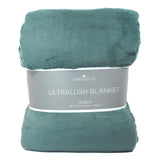 Berkshire Life Ultralush Velvety Soft Plush Warmest Blanket Green (Queen)