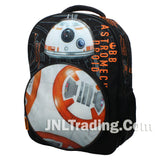Star Wars Disney BB-8 Droid w/ LED Light & Sound School Bag Travel Backpack