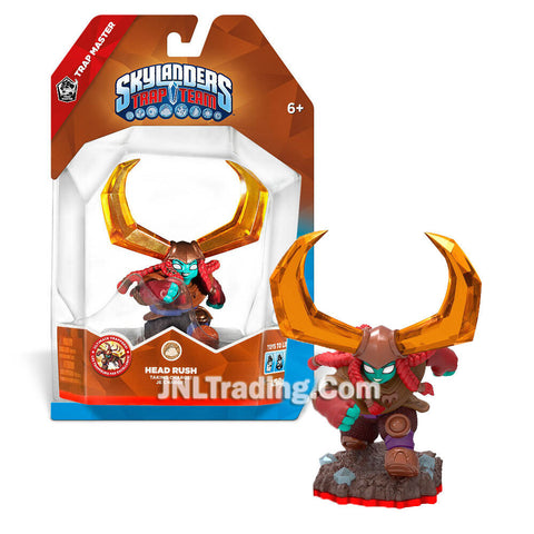 HOT Skylanders Trap Team Master HEAD RUSH Action Figure Earth Element
