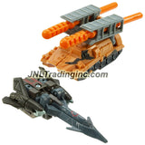 Hasbro Year 2005 Transformers Cybertron Series 2 Pack Mini-Con Class 2-1/2 Inch Tall Robot Action Figure - Decepticon SHOCKWAVE (Vehicle Mode: Blackbird Stealth Jet) Versus Autobot TANKOR (Vehicle Mode: Mobile Missile Launcher)