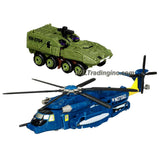 "Hasbro Year 2009 Transformers Movie Series 2 ""Revenge of the Fallen"" Robot Action Figure Set - MASTER OF METALLIKATO with Voyager Class Autobot WHIRL (Vehicle Mode: Sikorsky Pave Low Helicopter)and Deluxe Class Decepticon BLUDGEON (Vehicle Mode: Armored Personnel Carrier)"