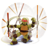 "Playmates Year 2014 Nickelodeon Teenage Mutant Ninja Turtles Ninja Action Series 5"" Tall Action Figure - Ninja Strikin' Mikey with Spinning and Striking Action"
