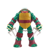 Playmates Year 2014 Teenage Mutant Ninja Turtles TMNT Head Droppin' Series 11 Inch Tall Action Figure - RAPHAEL with Head Dropping Feature Plus 2 Sais