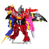 Bandai Year 2015 Power Rangers Dino Charge Series 2 Pack 12 Inch Tall MEGAZORD DELUXE PACK with DINO CHARGE Megazord and PTERA CHARGE Megazord with Blaster