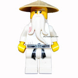 Lego Year 2011 Ninjago Series Key Chain Set # 853101 : SENSEIi-WU Keychain
