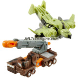 Hasbro Year 2005 Transformers Cybertron Series 2 Pack Mini-Con Class 2-1/2 Inch Tall Robot Action Figure - Decepticon SKY LYNX (Vehicle Mode: Cargo Plane) Versus Autobot THUNDERBLAST (Vehicle Mode: Mobile Missile Launcher)